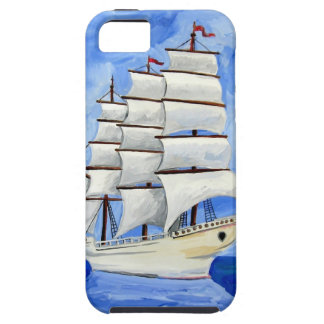 Capas Para iPhone 5 veleiro branco no mar azul