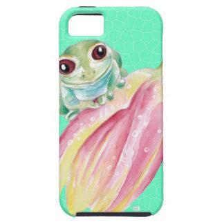 Capas Para iPhone 5 Verde do comedor de rãs