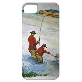 Capas Para iPhone 5 Viagem de pesca do pai e do filho