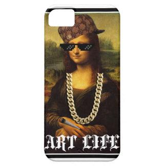 Capas Para iPhone 5 Vida da arte da vida do vândalo de Mona Lisa