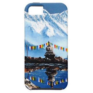 Capas Para iPhone 5 Vista panorâmica da montanha Nepal de Annapurna