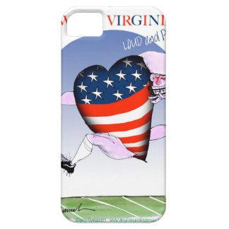 Capas Para iPhone 5 w fernandes tony altos e orgulhosos de Virgínia,