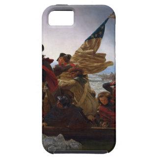 Capas Para iPhone 5 Washington que cruza arte do vintage do Delaware -