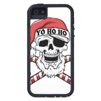 Capas Para iPhone 5 Yo ho ho - papai noel do pirata - Papai Noel