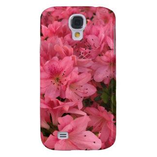 Capas Personalizadas Samsung Galaxy S4 Arbusto de florescência cor-de-rosa brilhante