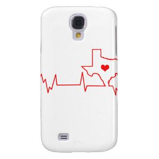 Capas Personalizadas Samsung Galaxy S4 Batimento cardíaco de Texas