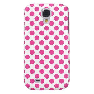 Capas Personalizadas Samsung Galaxy S4 Bolinhas cor-de-rosa