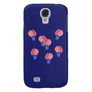 Capas Personalizadas Samsung Galaxy S4 Caixa da galáxia S4 de Samsung dos balões de ar