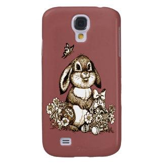 Capas Personalizadas Samsung Galaxy S4 Coelhinho da Páscoa