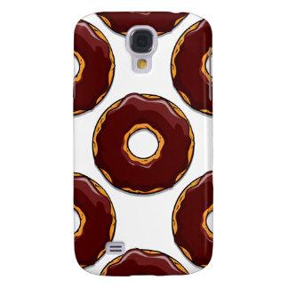 Capas Personalizadas Samsung Galaxy S4 Design da rosquinha do chocolate dos desenhos