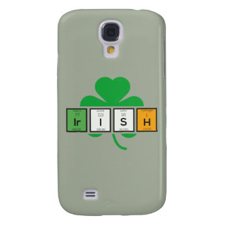 Capas Personalizadas Samsung Galaxy S4 Elemento químico Zz37b do cloverleaf irlandês