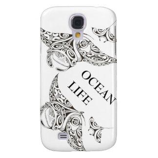 Capas Personalizadas Samsung Galaxy S4 família da vida do oceano dos manta-raios