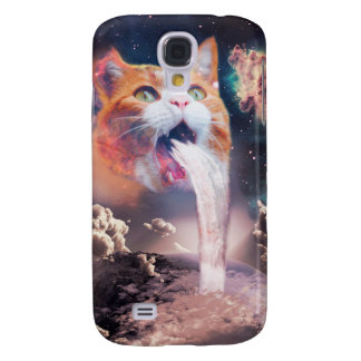 Capas Personalizadas Samsung Galaxy S4 gato da cachoeira - fonte do gato - espace o gato