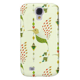 Capas Personalizadas Samsung Galaxy S4 Pássaro asteca tribal étnico do vintage
