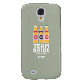 Capas Personalizadas Samsung Galaxy S4 Suiça da noiva da equipe 2017 Ztd9s