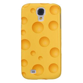 Capas Personalizadas Samsung Galaxy S4 Teste padrão amarelo do queijo