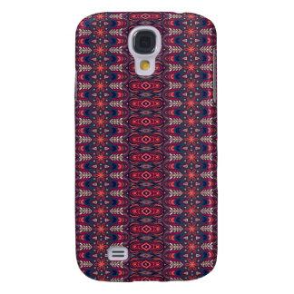 Capas Personalizadas Samsung Galaxy S4 Teste padrão floral étnico abstrato colorido da