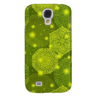 Capas Personalizadas Samsung Galaxy S4 Teste padrão luxuoso floral da mandala
