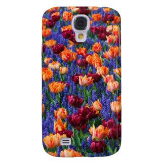 Capas Personalizadas Samsung Galaxy S4 Tulipas
