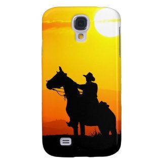 Capas Personalizadas Samsung Galaxy S4 Vaqueiro-Vaqueiro-luz do sol-ocidental-país do por