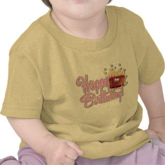 Capas redondas 100%Cotton do Short do pescoço do Camiseta