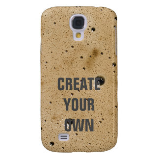 Capas Samsung Galaxy S4 As bolhas do café criam seus próprios