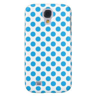 Capas Samsung Galaxy S4 Bolinhas azuis