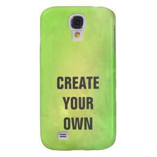 Capas Samsung Galaxy S4 Criar sua própria pintura verde moderna da