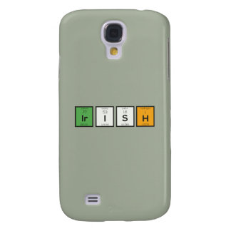 Capas Samsung Galaxy S4 Elementos químicos irlandeses Zy4ra