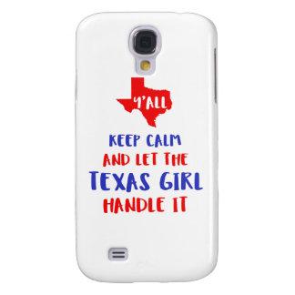 Capas Samsung Galaxy S4 Engraçado você camisetas da menina de Texas