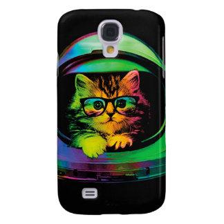 Capas Samsung Galaxy S4 Gato do hipster - astronauta do gato - espace o