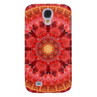 Capas Samsung Galaxy S4 Mandala de cristal do fogo