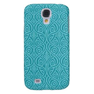 Capas Samsung Galaxy S4 nouveau da arte, cerceta, verde, art deco,