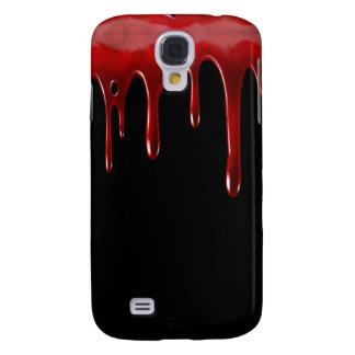 Capas Samsung Galaxy S4 O sangue de Falln goteja o preto