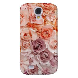Capas Samsung Galaxy S4 rosas do vintage