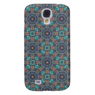 Capas Samsung Galaxy S4 Teste padrão floral étnico abstrato colorido da