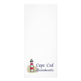 Cape Cod Massachusetts 10.16 X 22.86cm Panfleto