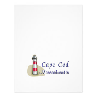 Cape Cod Massachusetts Panfleto Coloridos