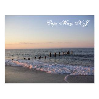 Cape May acena o cartão