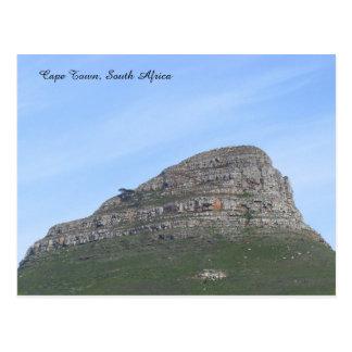 Cape Town, África do Sul Cartão Postal