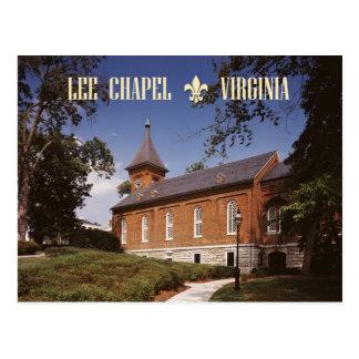 Capela de Lee, lugar de descanso final de Robert Cartão Postal