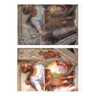 Capela de Sistine da descrição sumária, profeta a  Cartao Postal