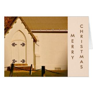 Capela do Natal Cartão