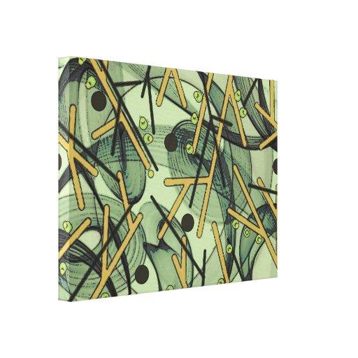 Capella - abstrato impressão de canvas esticada