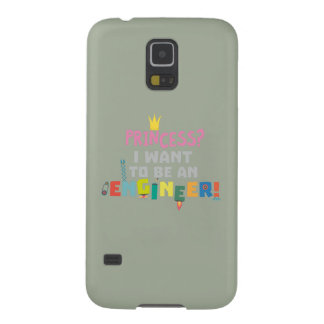 Capinha Galaxy S5 A princesa Eu quer ser um Engnineer Z2yb2