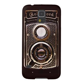 Capinha Galaxy S5 Art deco do rolleicord da câmera do vintage