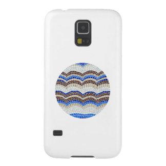 Capinha Galaxy S5 Caixa azul redonda da galáxia S5 de Samsung do