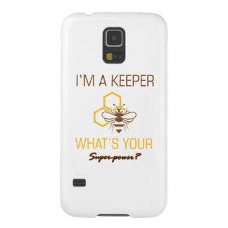 Capinha Galaxy S5 Camiseta do depositário da abelha