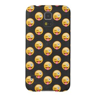 Capinha Galaxy S5 Cara louca Emoji
