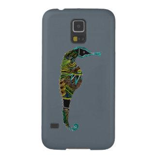Capinha Galaxy S5 Cavalo marinho de néon